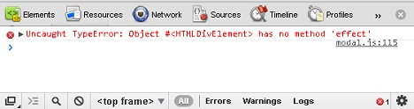HTMLDivElement Error